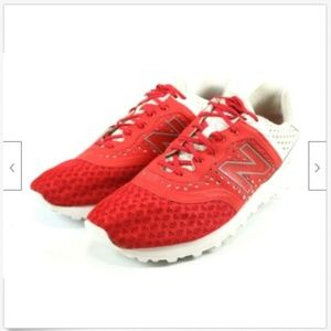 New Balance 574 Mens Running Shoes Sz 13 Red White